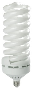 125 Watt Full Spiral CFL- BALLASTIRAN- LED SMD- CFL- FPL- Warm White- Day Light- Cool White- Colored- Red- Green- Blue