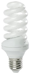 15 Watt Full Spiral CFL- BALLASTIRAN- LED SMD- CFL- FPL- Warm White- Day Light- Cool White- Colored- Red- Green- Blue