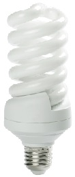 25 Watt Full Spiral CFL- BALLASTIRAN- LED SMD- CFL- FPL- Warm White- Day Light- Cool White- Colored- Red- Green- Blue