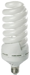 55 Watt Full Spiral CFL- BALLASTIRAN- LED SMD- CFL- FPL- Warm White- Day Light- Cool White- Colored- Red- Green- Blue