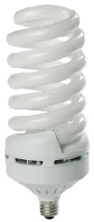85 Watt Full Spiral CFL- BALLASTIRAN- LED SMD- CFL- FPL- Warm White- Day Light- Cool White- Colored- Red- Green- Blue
