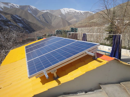 Sooleghan Solar Off-Grid Photovoltaic System